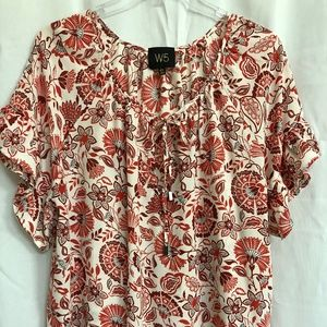 XL Floral Blouse by W5